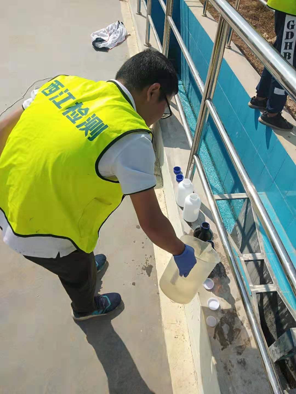 肇庆市禄步同济水务有限公司废水、噪音检测